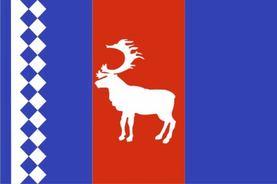 Флаг района Тазовский ЯНАО