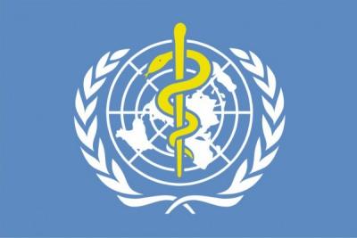 Флаг Всемирная организация здравоохранения ВОЗ
