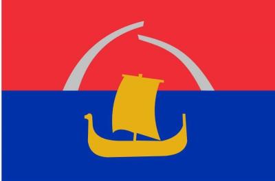 Флаг района Всеволожский Ленинградская область