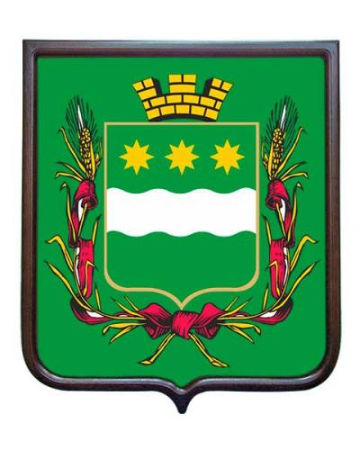 Герб города Благовещенска (гербовое панно)