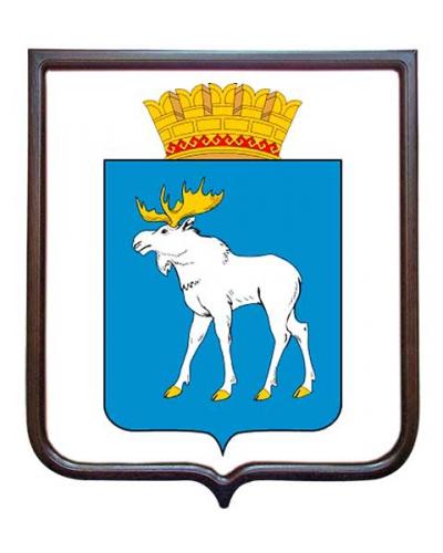 Герб города Йошкар-Ола (гербовое панно)