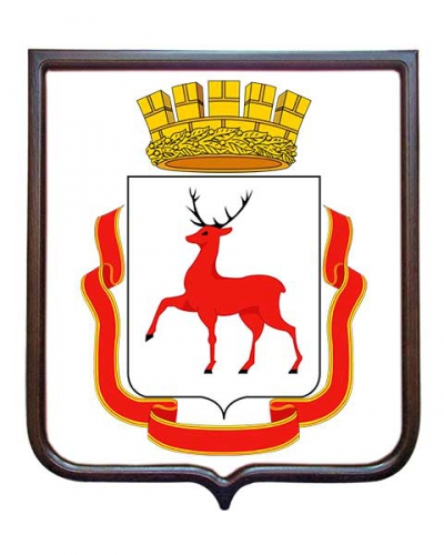 Герб города Нижнего Новгорода (гербовое панно)