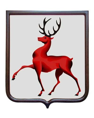 Герб Нижегородской области (герб малый)