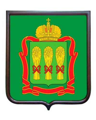 Герб Пензенской области (гербовое панно)