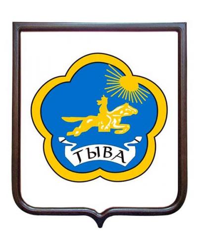 Герб Республики Тыва (гербовое панно)