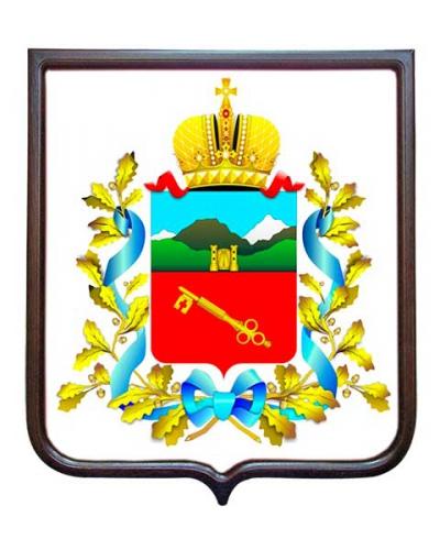 Герб города Владикавказа (гербовое панно)