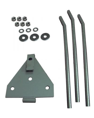 Закладной крепеж для мачт до 12м комплектация