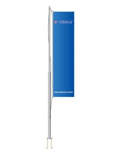 Флагшток уличный «Стандарт» алюминий 6 метров