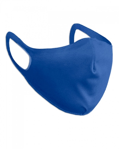 Маска защитная тканевая Синяя
