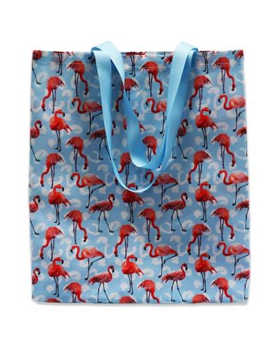 Сумка Фламинго синий