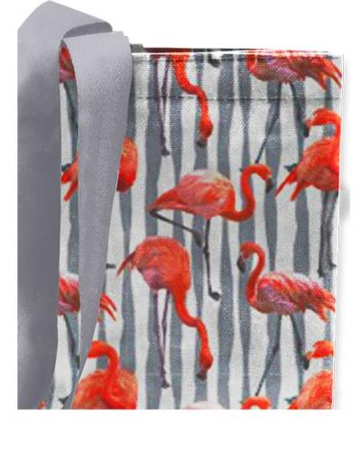Сумка Фламинго светлый