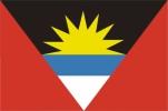 Флаг страны Антигуа и Барбуда