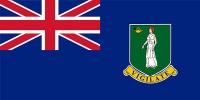 Флаг страны Британские Виргинские острова