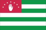 Флаг страны Абхазия