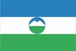 Флаг субъекта РФ Кабардино-Балкарская Республика
