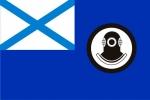 Флаг поисково-спасательных судов ВМФ РФ