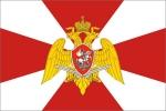 Флаг Войска национальной гвардии РФ (флаг Росгвардии)
