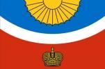 Флаг района Тихвинский Ленинградская область