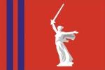 Флаг субъекта РФ Волгоградская область