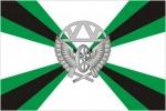 Флаг Железнодорожных войск РФ