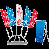 Металлоконструкции с флагами