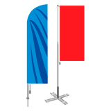 Аренда флагштоков, металлоконструкций с флагами