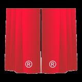 Шторы с логотипом, фотошторы на заказ