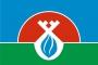 Флаг района Надымский ЯНАО