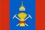 Флаг района Подольский Московская область