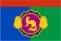 Флаг района Пушкинский Московская область