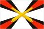 Флаг РВиА Ракетные войска и артиллерия Сухопутных войск РФ