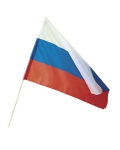 Флаг РФ с древком 50см