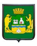 Герб города Екатеринбурга (гербовое панно)