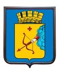 Герб города Кирова (гербовое панно)