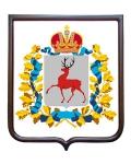 Герб Нижегородской области (гербовое панно)