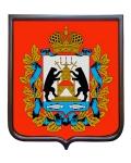 Герб Новгородской области (гербовое панно)