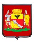 Герб города Воронеж (гербовое панно, полный герб)