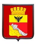 Герб города Воронеж (гербовое панно, средний герб)