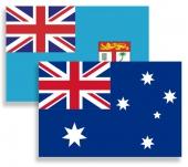Флаги стран Австралии