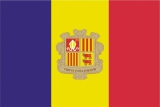 Флаг страны Андорра