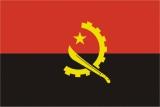 Флаг страны Ангола
