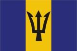 Флаг страны Барбадос