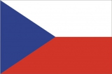 Флаг страны Чехия