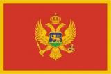 Флаг страны Черногория