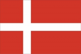 Флаг страны Дания