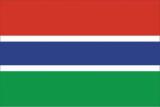 Флаг страны Гамбия