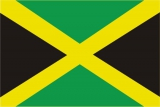 Флаг страны Ямайка
