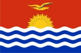 Флаг страны Кирибати