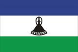 Флаг страны Лесото