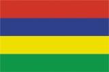 Флаг страны Маврикий